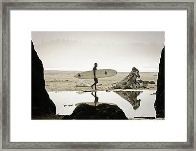 Vancouver Island, Pacific Rim National Framed Print by Matt Freedman