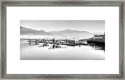 Vancouver Mist Framed Print by Alexis Birkill