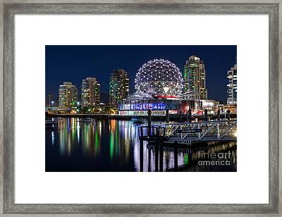 Vancouver Telus World Of Science - By Sabine Edrissi Framed Print