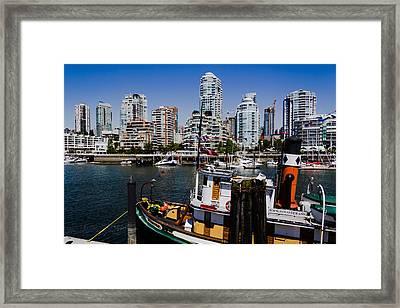 Vancouver Views Framed Print