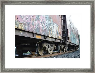 Vandalise This Framed Print by Sheldon Blackwell