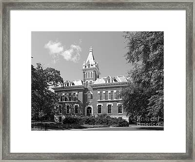 Vanderbilt University Benson Hall Framed Print by University Icons