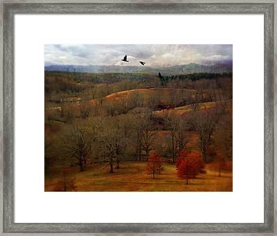 Vanderbilt View Framed Print