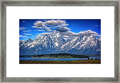 Vanguard Of The Morning Framed Print