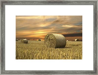 Vanilla Sky Framed Print by Anna Kaminska