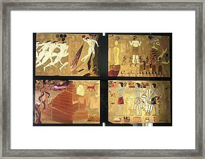 Vanished Civilization Framed Print