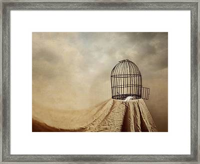 Vanishing Act Framed Print
