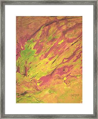 Vanishing Forest Framed Print by Sole Avaria