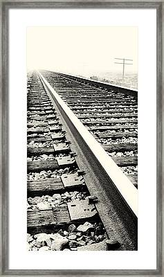 Vanishing Point Framed Print