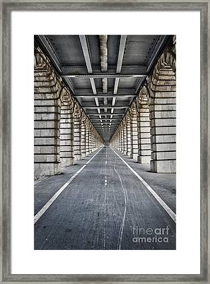 Vanishing Point Framed Print by Delphimages Photo Creations