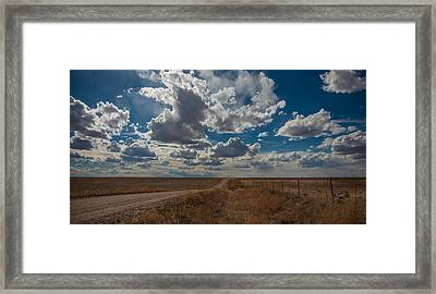 Framed Print featuring the photograph Days Of Our Lives In Kansas by Shirley Heier