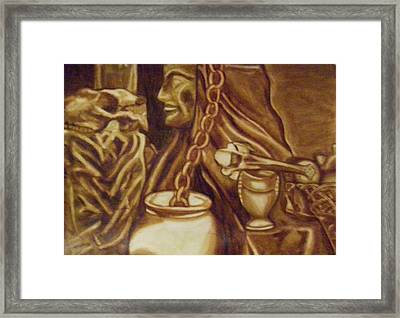 Vanita Framed Print by Thomasina Durkay
