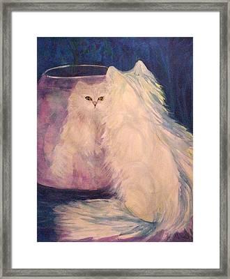 Vanity Framed Print by Carolyn LeGrand