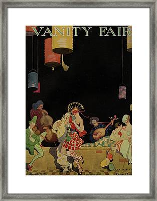 Vanity Fair Cover Featuring An Ensemble Framed Print by The Reeses