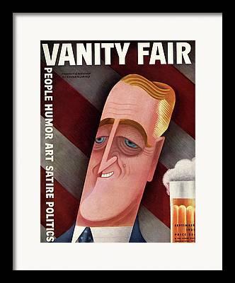 Franklin D. Roosevelt Framed Prints