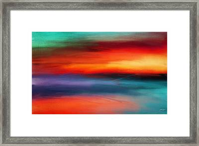 Vanity Of Its Rays Framed Print by Lourry Legarde