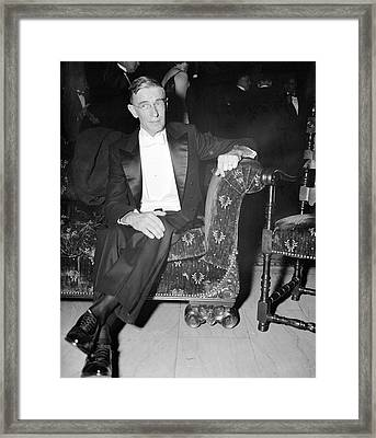 Vannevar Bush Framed Print by Library Of Congress