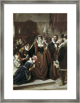 Vannutelli, Scipione 1834-1894. Mary Framed Print by Everett