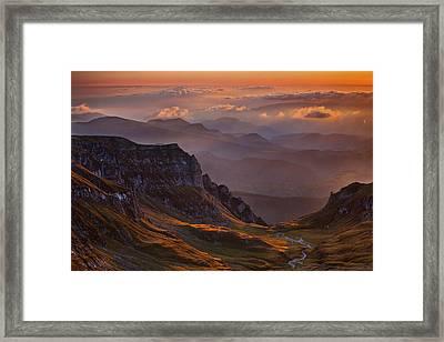 Vantage Point Framed Print