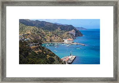 Vantage Port Framed Print by Lauren Goia