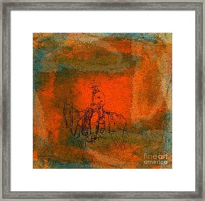 Vaquero Framed Print by R Kyllo