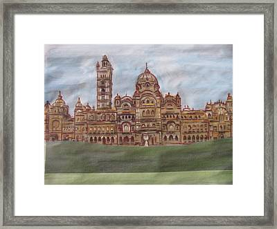 Framed Print featuring the painting Varadara by Vikram Singh