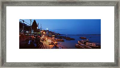 Varanasi, India Framed Print by Panoramic Images