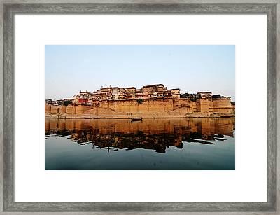 Varanasi Ramnagar Fort Framed Print