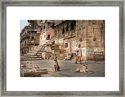 Varanassi Framed Print
