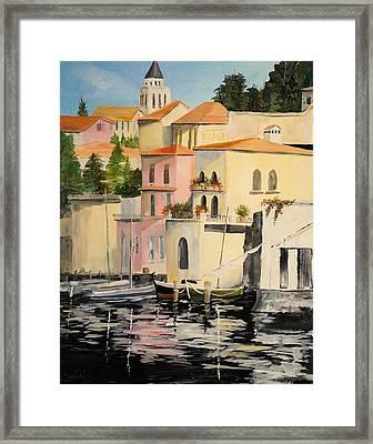 Varenna Framed Print by Alan Lakin
