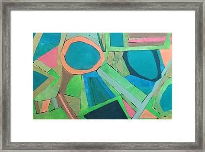 Variation Framed Print by Diane Fine