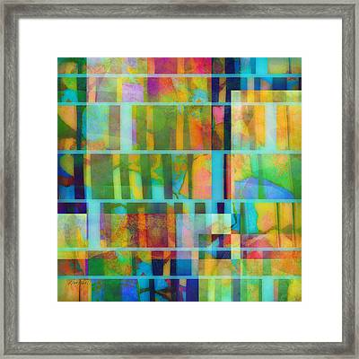 Variation On A Theme Abstract Art Framed Print