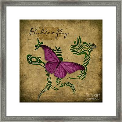 Variation Sur Un Meme Theme - S02p-en Gold Framed Print by Variance Collections