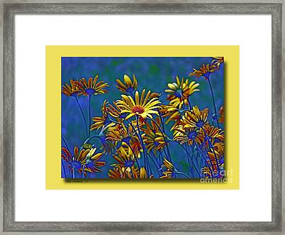 Framed Print featuring the photograph Variations On A Theme Of Florid Dreams by Chris Anderson