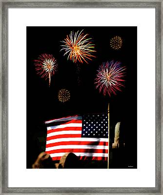 Variations On Old Glory No. 2 Framed Print by John Pagliuca