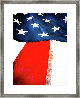 Variations On Old Glory No.1 Framed Print by John Pagliuca
