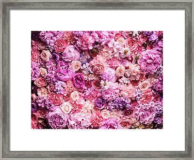 Various Cut Flowers, Detail Framed Print