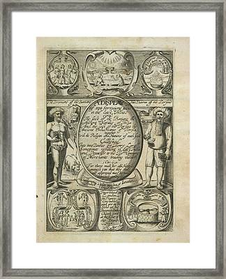 Various Sects And Rituals Framed Print by British Library