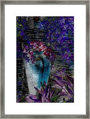 Framed Print featuring the photograph Vase by Athala Carole Bruckner