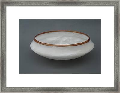 Vase Framed Print by Leslie Dycke