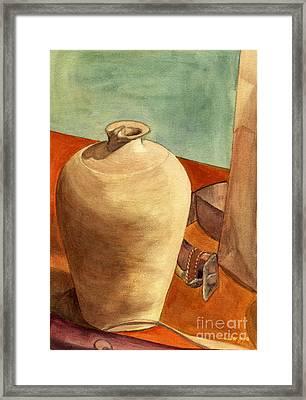 Vase Still Framed Print