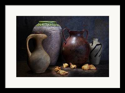 Still Life With Pitcher Photographs Framed Prints