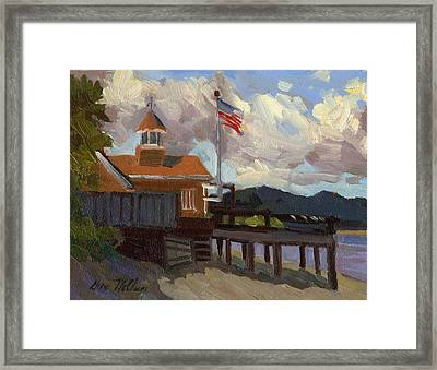 Vashon Island 4th Of July Framed Print by Diane McClary