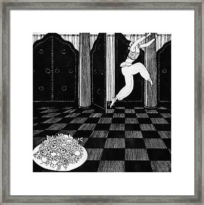 Vaslav Nijinsky In Scheherazade Framed Print