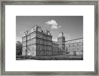 Vassar College Main Building Framed Print