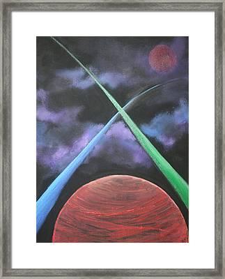 Vast Cosmos Framed Print