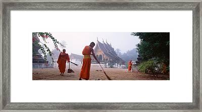 Vat Xieng Thong, Luang Prabang, Laos Framed Print by Panoramic Images