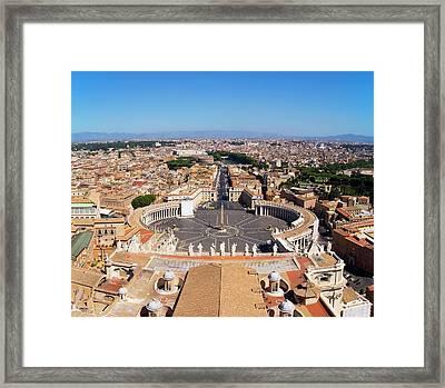 Vatican City Framed Print