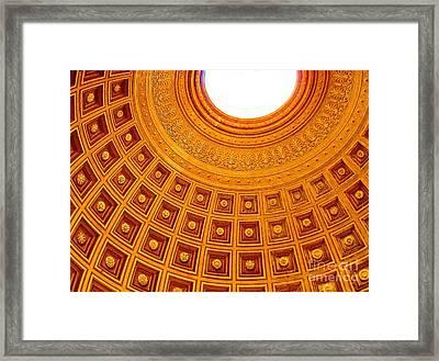 Vatican Mount Framed Print