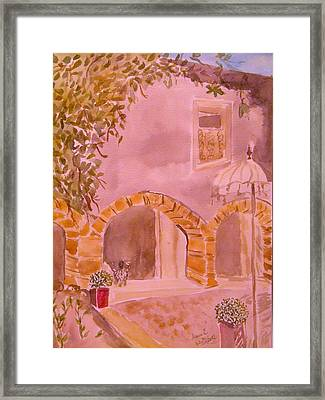 Vaucluse Provence Framed Print